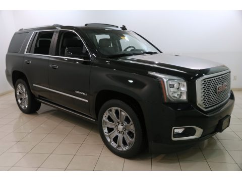 Onyx Black GMC Yukon Denali 4WD.  Click to enlarge.