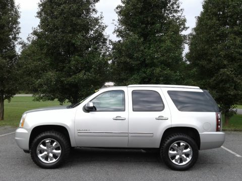 Pure Silver Metallic GMC Yukon Denali AWD.  Click to enlarge.