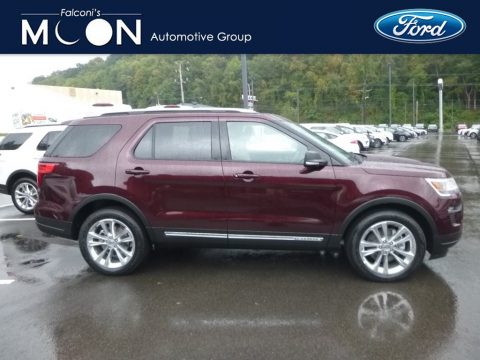 Burgundy Velvet Ford Explorer XLT 4WD.  Click to enlarge.