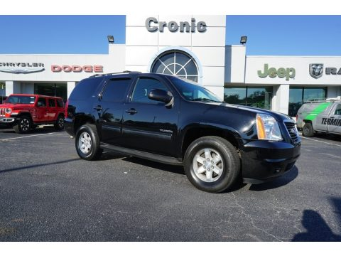 Onyx Black GMC Yukon SLT.  Click to enlarge.