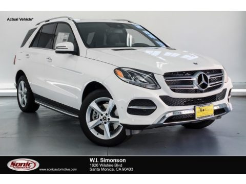 Polar White Mercedes-Benz GLE 400 4Matic.  Click to enlarge.
