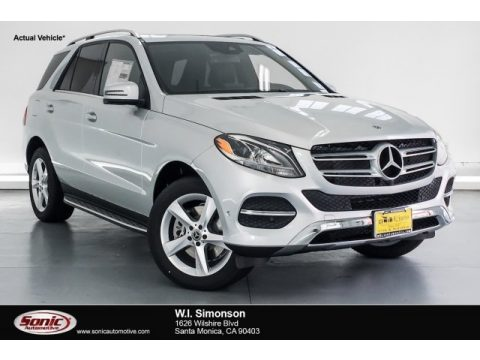 Iridium Silver Metallic Mercedes-Benz GLE 400 4Matic.  Click to enlarge.