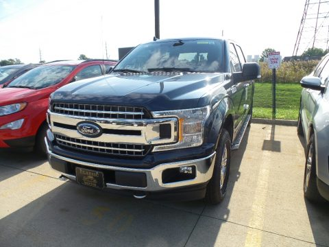 Blue Jeans Ford F150 XLT SuperCrew 4x4.  Click to enlarge.