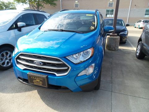 Blue Candy Ford EcoSport SE.  Click to enlarge.