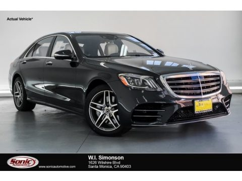 Magnetite Black Metallic Mercedes-Benz S 560 Sedan.  Click to enlarge.