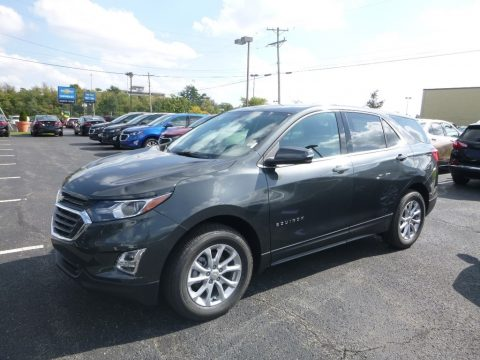Nightfall Gray metallic Chevrolet Equinox LT AWD.  Click to enlarge.