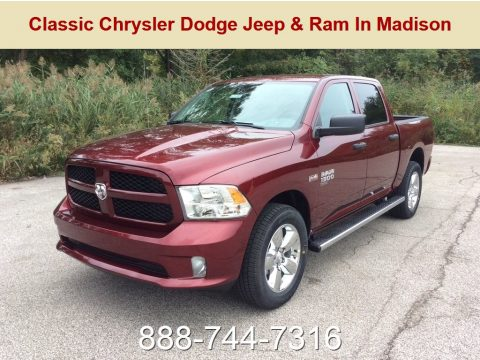 Delmonico Red Pearl Ram 1500 Classic Express Crew Cab 4x4.  Click to enlarge.