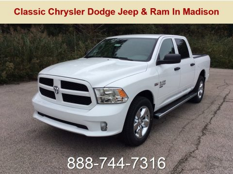 Bright White Ram 1500 Classic Express Crew Cab 4x4.  Click to enlarge.
