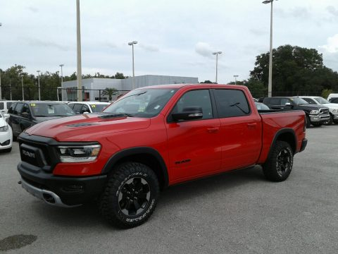 Flame Red Ram 1500 Rebel Crew Cab 4x4.  Click to enlarge.