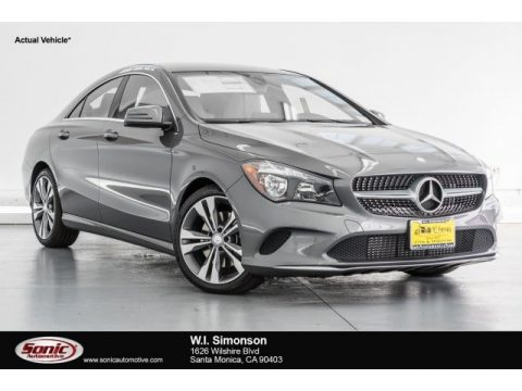 Mountain Grey Metallic Mercedes-Benz CLA 250 Coupe.  Click to enlarge.