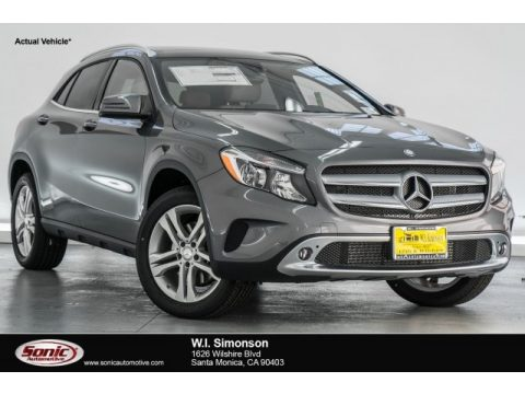 Mountain Grey Metallic Mercedes-Benz GLA 250.  Click to enlarge.
