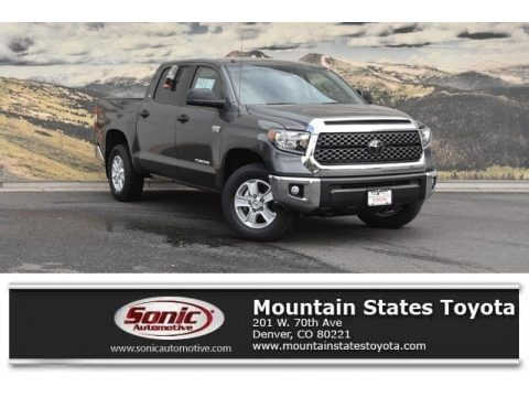 Magnetic Gray Metallic Toyota Tundra SR5 CrewMax 4x4.  Click to enlarge.