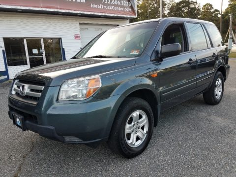 Steel Blue Metallic Honda Pilot LX 4WD.  Click to enlarge.