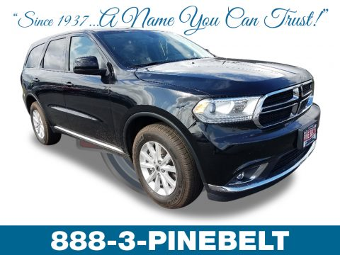DB Black Dodge Durango SXT AWD.  Click to enlarge.