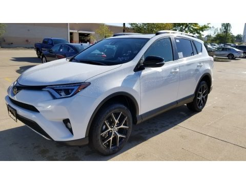 Super White Toyota RAV4 SE AWD.  Click to enlarge.