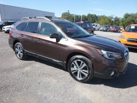 Cinnamon Brown Pearl Subaru Outback 2.5i Limited.  Click to enlarge.