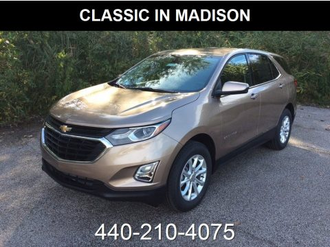 Sandy Ridge Metallic Chevrolet Equinox LT AWD.  Click to enlarge.
