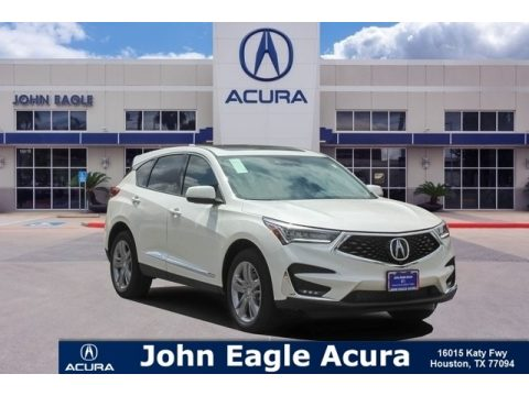 White Diamond Pearl Acura RDX Advance.  Click to enlarge.