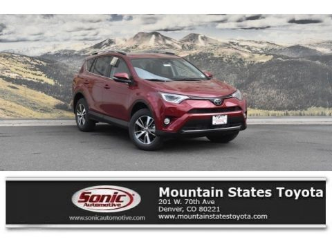 Ruby Flare Pearl Toyota RAV4 XLE AWD.  Click to enlarge.
