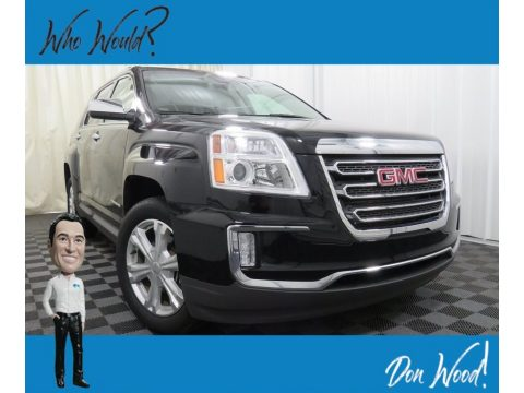 Onyx Black GMC Terrain SLT AWD.  Click to enlarge.
