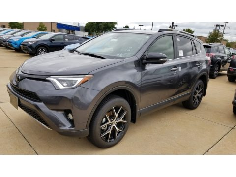 Magnetic Gray Metallic Toyota RAV4 SE AWD.  Click to enlarge.