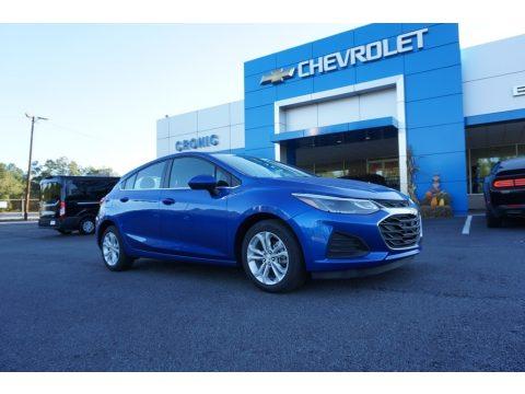 Kinetic Blue Metallic Chevrolet Cruze LT Hatchback.  Click to enlarge.