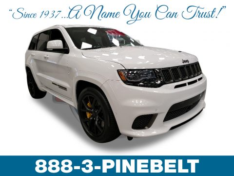 Ivory Tri-Coat Jeep Grand Cherokee Trackhawk 4x4.  Click to enlarge.