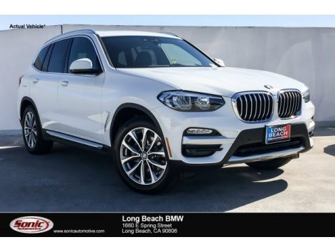 Alpine White BMW X3 sDrive30i.  Click to enlarge.