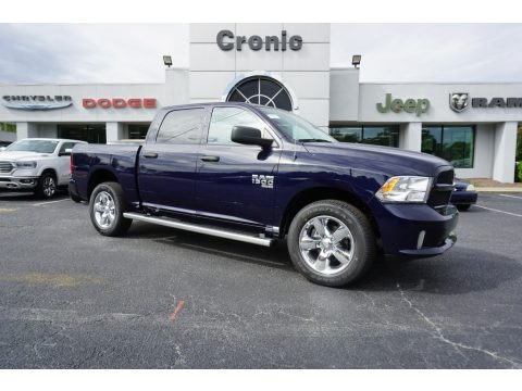 True Blue Pearl Ram 1500 Classic Express Crew Cab 4x4.  Click to enlarge.