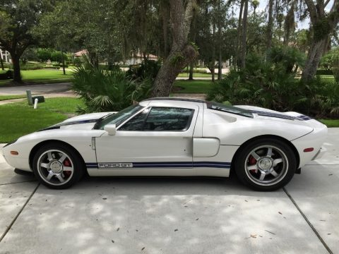 Centennial White Ford GT .  Click to enlarge.