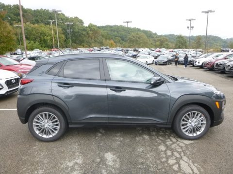 Thunder Gray Hyundai Kona SEL AWD.  Click to enlarge.