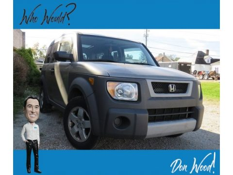 Satin Silver Metallic Honda Element EX AWD.  Click to enlarge.