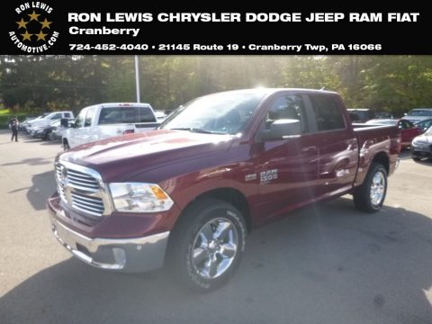 Delmonico Red Pearl Ram 1500 Classic Big Horn Crew Cab 4x4.  Click to enlarge.