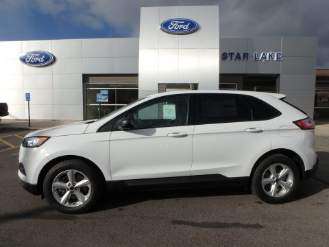 Oxford White Ford Edge SE AWD.  Click to enlarge.