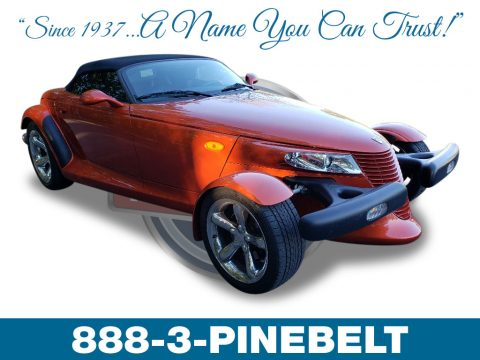 Prowler Orange Plymouth Prowler Roadster.  Click to enlarge.