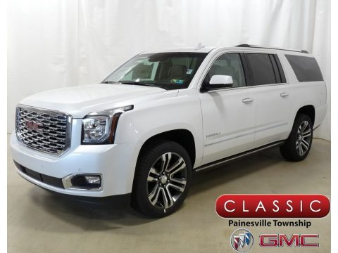 White Frost Tintcoat GMC Yukon XL Denali 4WD.  Click to enlarge.