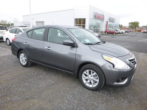 Gun Metallic Nissan Versa SV Special Edition.  Click to enlarge.
