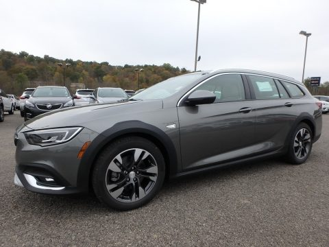 Smoked Pearl Metallic Buick Regal TourX Essence AWD.  Click to enlarge.