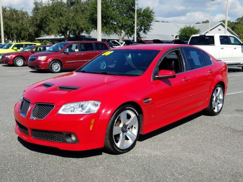 Liquid Red Pontiac G8 GT.  Click to enlarge.