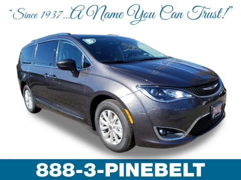 Granite Crystal Metallic Chrysler Pacifica Touring L.  Click to enlarge.