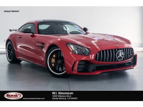 Mars Red Mercedes-Benz AMG GT R Coupe.  Click to enlarge.