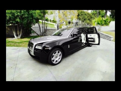 Diamond Black Rolls-Royce Ghost .  Click to enlarge.
