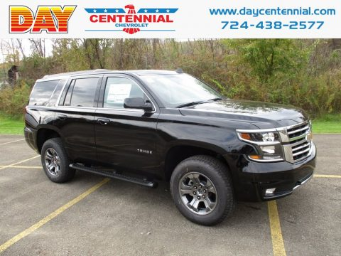 Black Chevrolet Tahoe LT 4WD.  Click to enlarge.