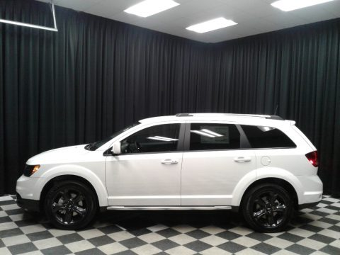 Vice White Dodge Journey Crossroad.  Click to enlarge.