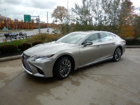 Atomic Silver Lexus LS 500.  Click to enlarge.