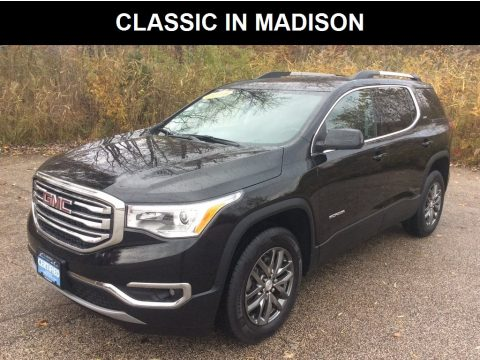 Ebony Twilight Metallic GMC Acadia SLT AWD.  Click to enlarge.