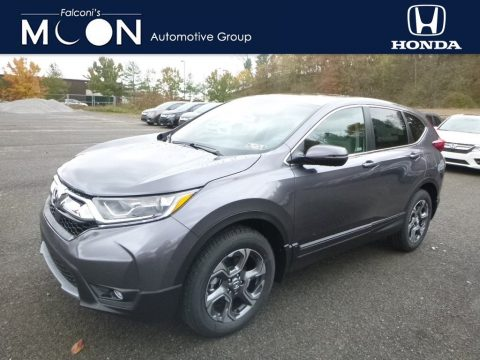 Gunmetal Metallic Honda CR-V EX AWD.  Click to enlarge.