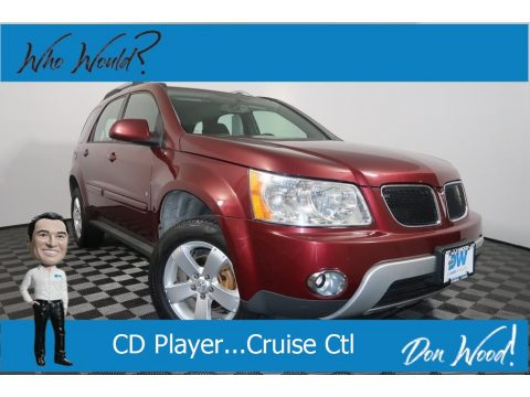 Sonoma Red Metallic Pontiac Torrent .  Click to enlarge.