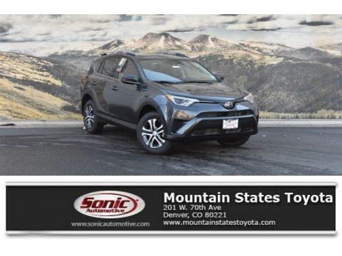 Magnetic Gray Metallic Toyota RAV4 LE.  Click to enlarge.