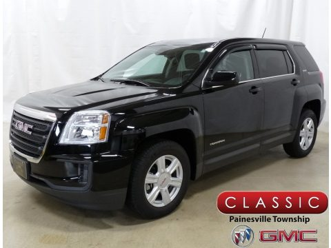 Onyx Black GMC Terrain SLE AWD.  Click to enlarge.